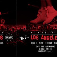BOILER ROOM & RAY-BAN ANNOUNCE LOS ANGELES ROLLER DISCO ON AUGUST 20TH