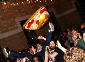 No Forks. Use Teeth: King Pizza Records End of Summer Psychic Luau