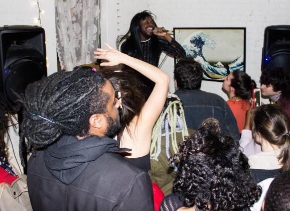 Scenes from the Underground: Prince Harvey's EP Release Party with Davey Jones, Winstons